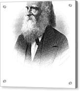 William Cullen Bryant Acrylic Print by Granger