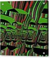 Twirling Acrylic Print