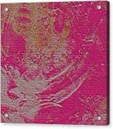 Sand Color Acrylic Print