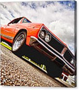 65 Chevrolet Acadian Acrylic Print by Phil 'motography' Clark