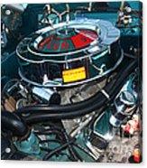 65 Plymouth Satellite Engine-8482 Acrylic Print