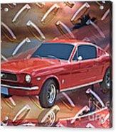 66 Fastback Acrylic Print