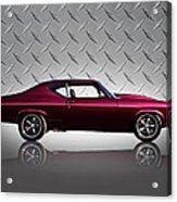 '69 Chevelle Acrylic Print