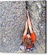 Climber Acrylic Print