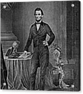 Abraham Lincoln, 16th American President Acrylic Print by Photo Researchers