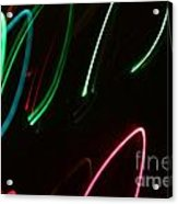 Abstract Motion Lights Acrylic Print