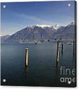 Alpine Lake Acrylic Print