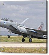 An F-15c Eagle Baz Aircraft Acrylic Print