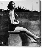 Clara Bow (1905-1965) Acrylic Print by Granger