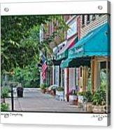 Downtown Perrysburg Acrylic Print