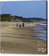 Dunwich Beach Suffolk. Acrylic Print