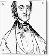 Edgar Allan Poe (1809-1849) Acrylic Print
