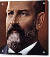 James A. Garfield (1831-1881) Acrylic Print