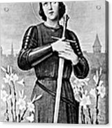 Joan Of Arc, French National Heroine Acrylic Print