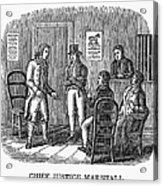 John Marshall (1755-1835) Acrylic Print