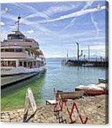 Lake Constance Meersburg Acrylic Print