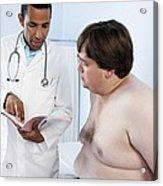 Medical Consultation Acrylic Print