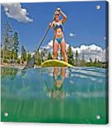 Paddle Board Acrylic Print