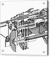 Screw-making Machine Acrylic Print