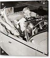 Silent Film: Automobiles Acrylic Print