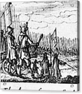 Spanish Armada, 1588 Acrylic Print