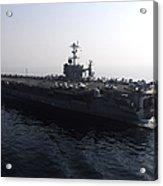 The Nimitz-class Aircraft Carrier Uss Acrylic Print