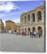 Verona Acrylic Print by Joana Kruse