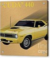 70 Cuda Acrylic Print