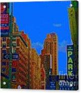 76th And Amsterdam Acrylic Print