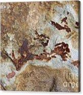 Natures Rock Art Acrylic Print