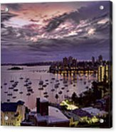 7th Floor View Macleay Street Potts Point Sydney Early Morning Acrylic Print
