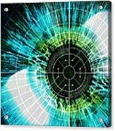 Biometric Eye Scan Acrylic Print