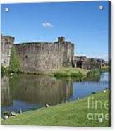Caerphilly Castle Acrylic Print