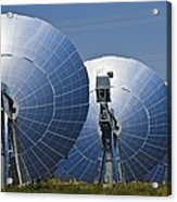 Concentrating Solar Power Plant Acrylic Print