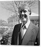 Jimmy Carter (1924- ) Acrylic Print by Granger