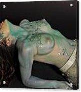 Kasper Body Painting Acrylic Print
