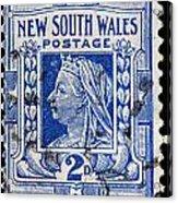 old Australian postage stamp Acrylic Print