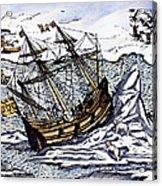 Willem Barents (c1550-1597) Acrylic Print