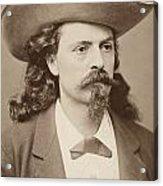 William F. Cody (1846-1917) Acrylic Print