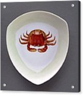 866 3 Part Of Crab Set 1 Acrylic Print
