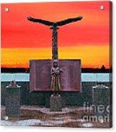 9-11  West Orange Nj Acrylic Print
