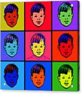 9 Dicks Acrylic Print