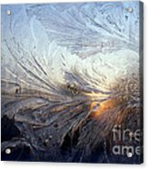 Frost On A Windowpane Acrylic Print