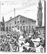Great Railroad Strike, 1877 Acrylic Print