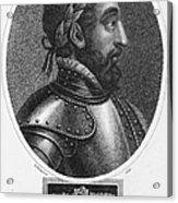 Henry II (1519-1559) Acrylic Print