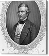 Millard Fillmore (1800-1874) Acrylic Print