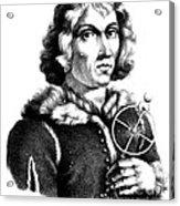 Nicolaus Copernicus, Polish Astronomer Acrylic Print
