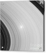 Saturns Rings Acrylic Print by NASA / Science Source