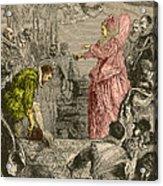 Sir Francis Drake, English Explorer Acrylic Print
