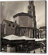 Split Old Town Acrylic Print